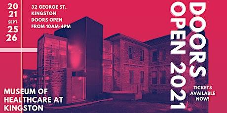 Doors Open Kingston 2021 - Museum of Healthcare tickets