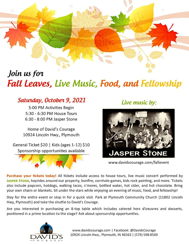 Fall Festival Event at David's Courage image