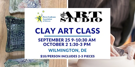 Clay Art Class at The New Castle County Art Studio tickets