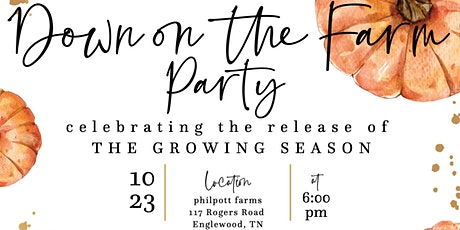 Down on the Farm Party tickets