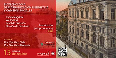 IX Encuentro Anual Red de Investigadores Chilenos en Alemania 2021 entradas