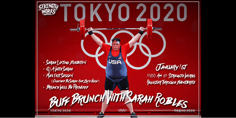 Buff Brunch with Sarah Robles tickets