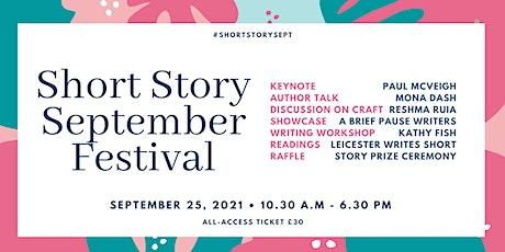 Short Story September Festival billets