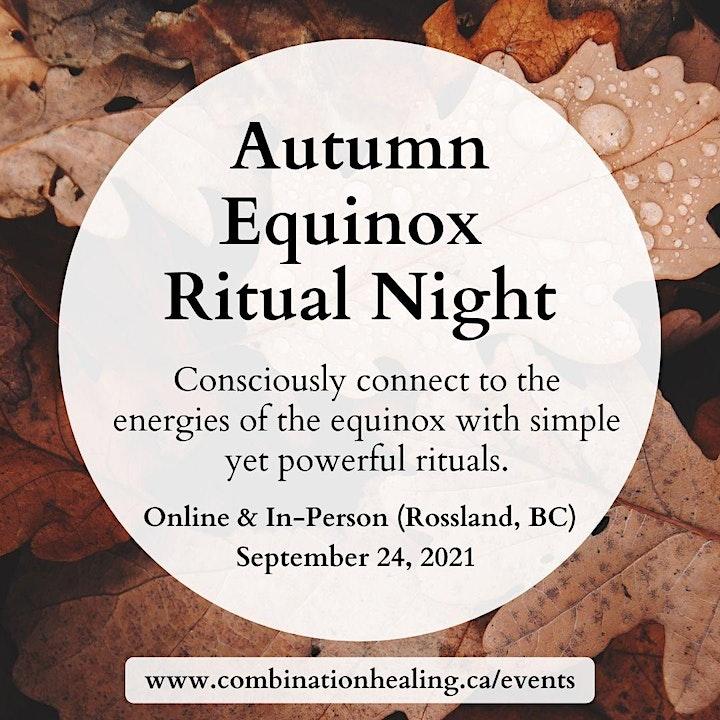 Autumn Equinox Ritual Night (Online) image