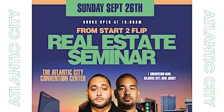 Cesar & DJ Envy's Real Estate Seminar [Atlantic City] tickets