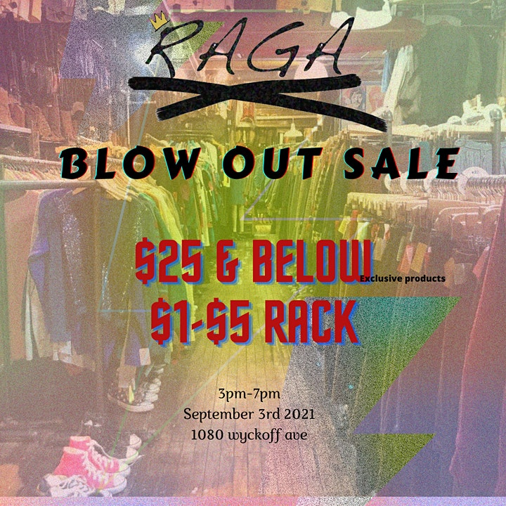 Raga Blow Out Sale image