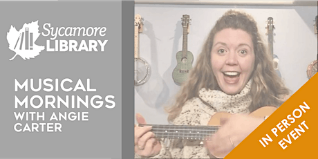 Musical Mornings with Angie Carter tickets