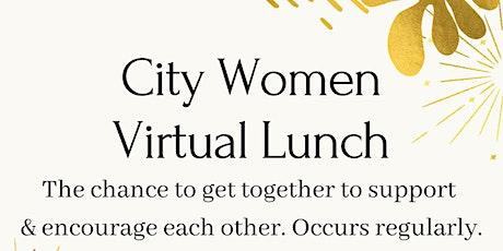 City Women Virtual Lunch: Women &  Change biljetter