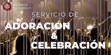 Servicio de Adoración  y Celebración - Fase 5 entradas