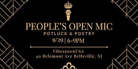 People's Open Mic (Poetry & Potluck) tickets