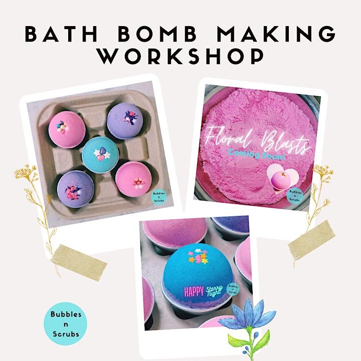 SG Bath Bomb Making Workshop (2-hrs) image