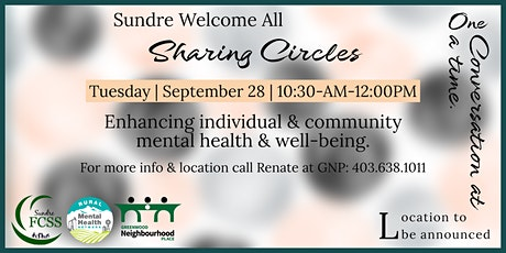 Sundre Welcome All Sharing Circles tickets