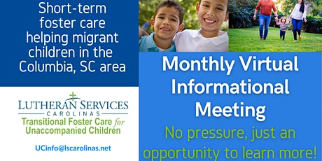 Virtual Foster Care Informational Meeting - Migrant Youth Foster Care tickets