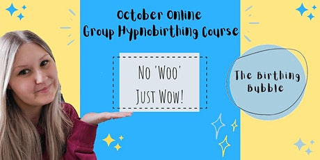 October Online Hypnobirthing Course tickets