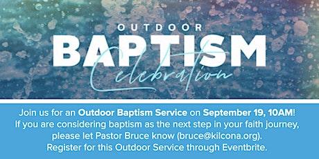 Baptism Sunday Outdoor Worship Service tickets