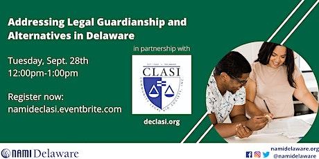 Addressing Legal Guardianship and Alternatives in Delaware with CLASI tickets