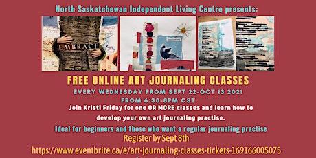 FREE Art Journaling Classes tickets