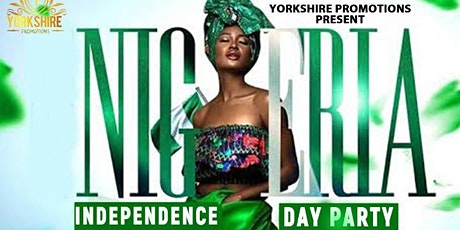 NIGERIA INDEPENDENCE DAY PARTY tickets