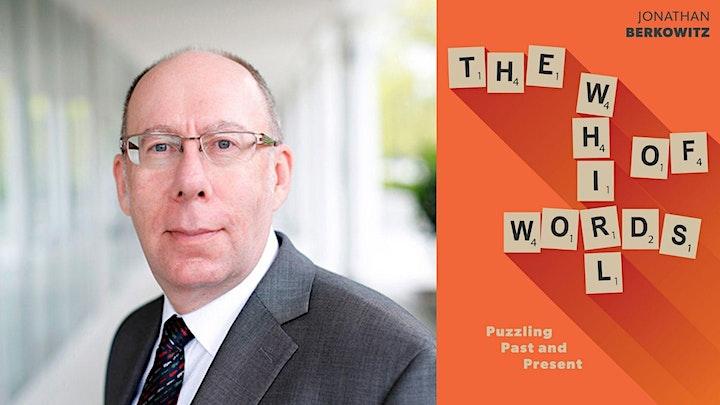 Jonathan Berkowitz - The Whirl of Words book launch image