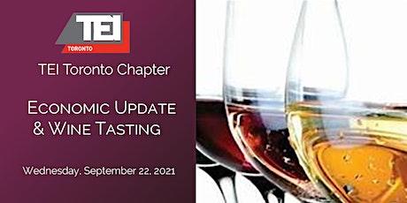 TEI Toronto Economic Update & Wine Tasting tickets