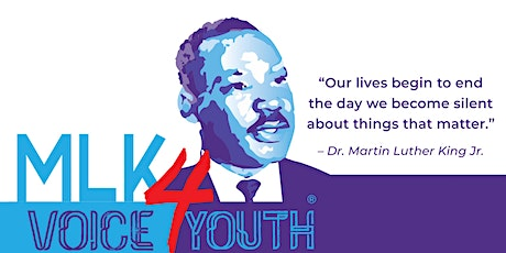 MLK VOICE 4 YOUTH ZOOM WRITING WORKSHOP tickets