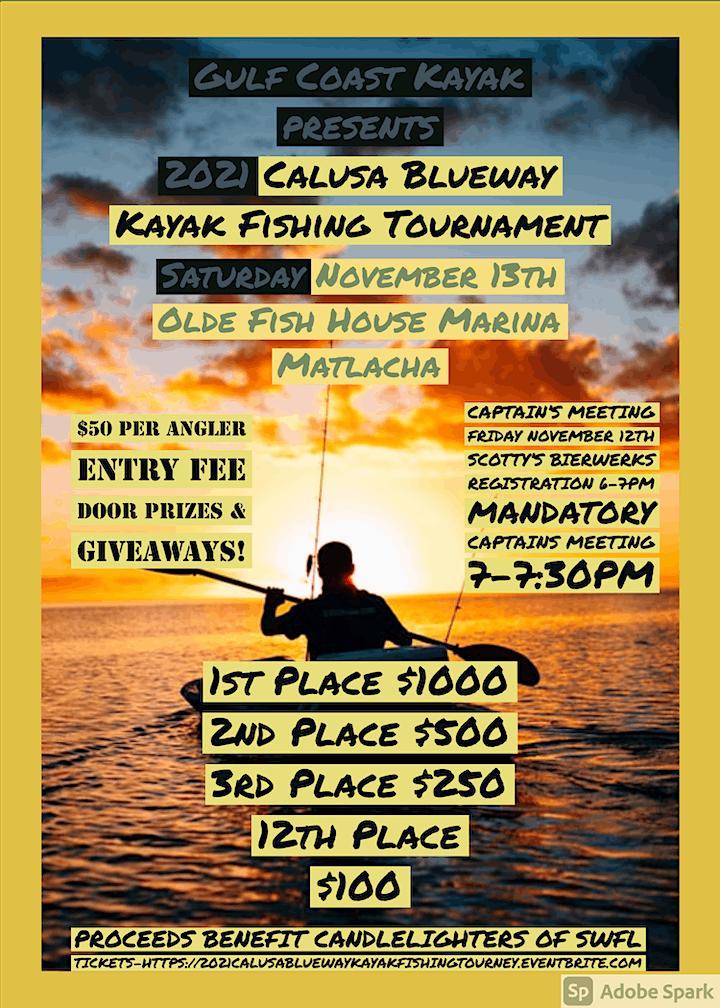 Calusa Blueway Kayak Fishing Tournament image