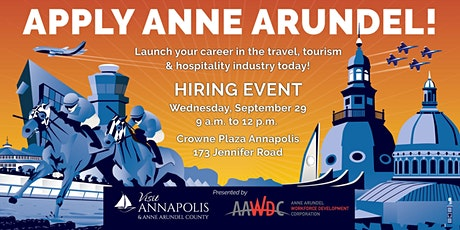 Visit Annapolis  Anne Arundel County Hiring Event tickets
