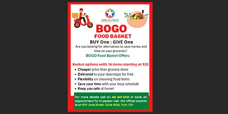 BOGO Basket: Buy One, Give One tickets