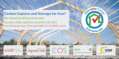 "natureplus Symposium ""Carbon Capture and Storage for free?"" tickets"
