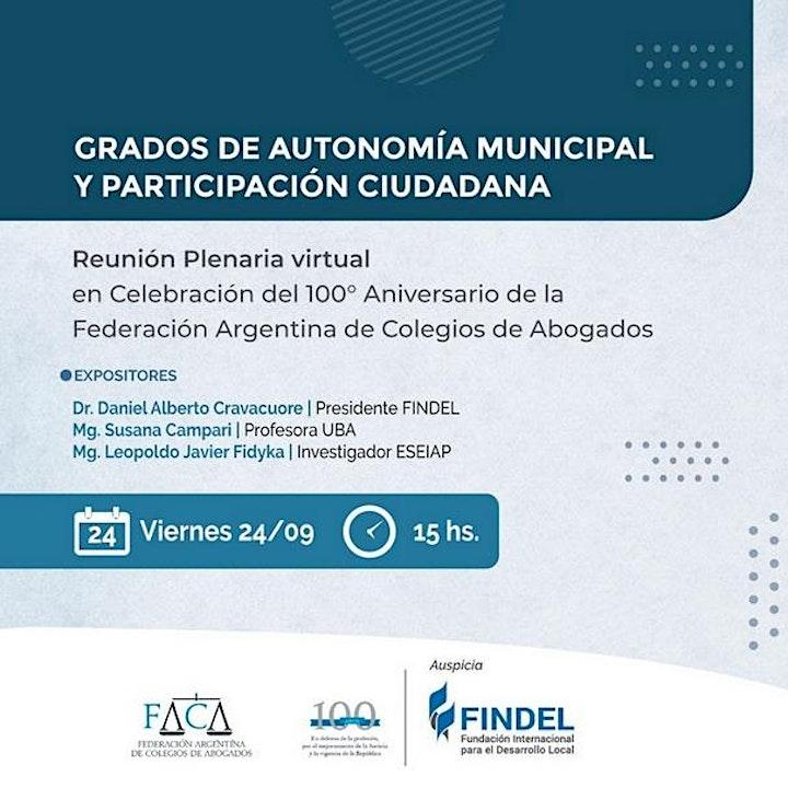 Imagen de GRADOS DE AUTONOMÍA MUNICIPAL Y PARTICIPACIÓN CIUDADANA