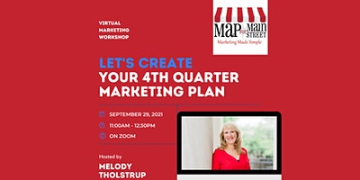 Let's Create Your 4th Quarter Marketing Plan!