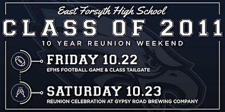 Ten Year Reunion - EFHS Class of 2011 tickets