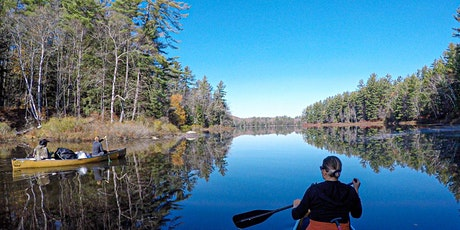 Canoe Camping With a Gourmet, Campfire Cooked Meal on a Private Island in t tickets