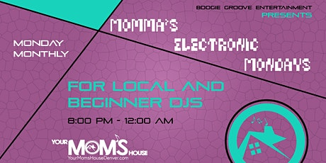 Momma's Electronic Mondays 9/27 tickets