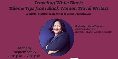 Traveling While Black: Tales and Tips from Black Women Travel Writers tickets