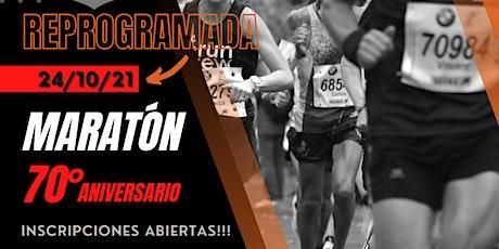 Maratón 70° Aniversario del Club Unión Vecinal de Luis Guillón. entradas