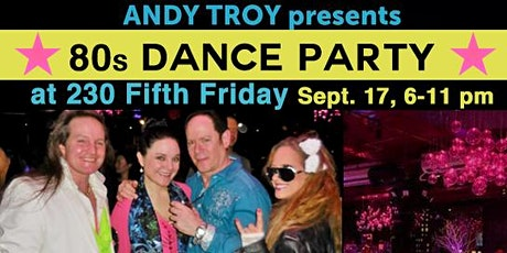 80s Dance Party at 230 Fifth, Free Admission (Front Elevators) tickets
