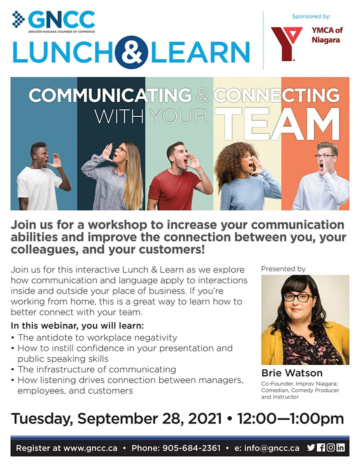 Lunch & Learn: Communicating & Connecting With Your Team image
