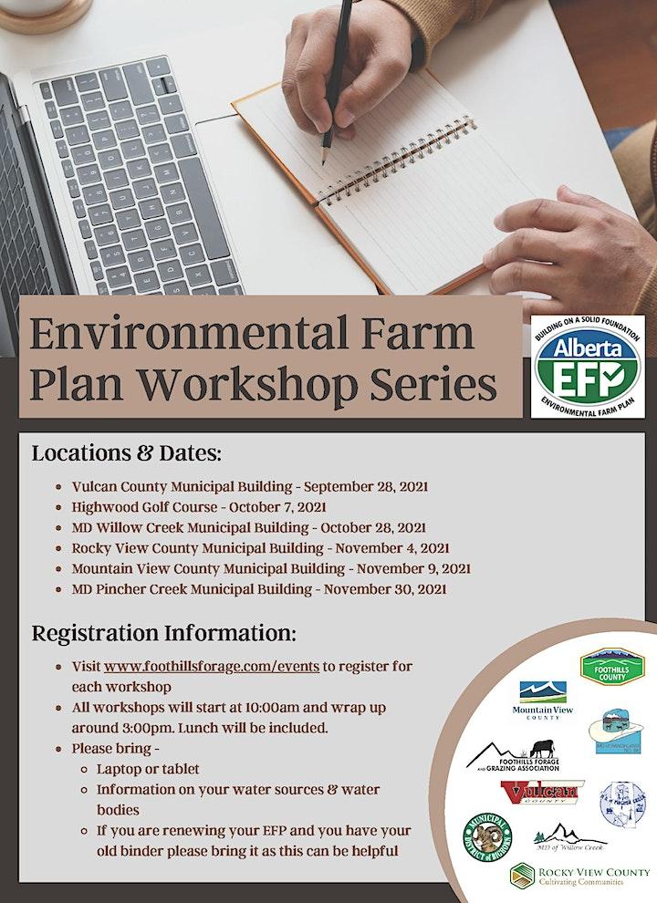 Environmental Farm Plan Workshop -  Rocky View County & MD Big Horn image