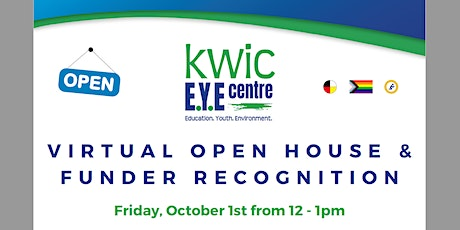 KWIC Virtual Open House & Funder Recognition Event tickets