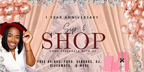 Xo Diana Anniversary Sip N Shop tickets