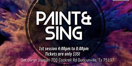 Paint&SING! tickets