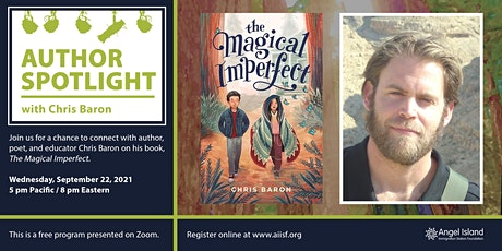Author Spotlight: Chris Baron tickets