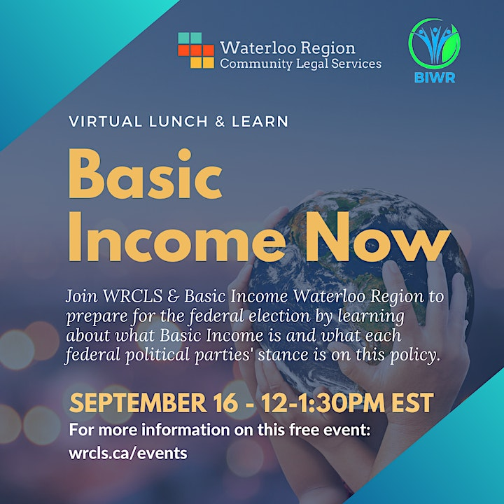 Basic Income Now Lunch & Learn image