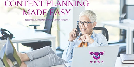 Content Planning Made Easy tickets