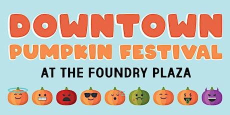 Downtown Pumpkin Festival tickets