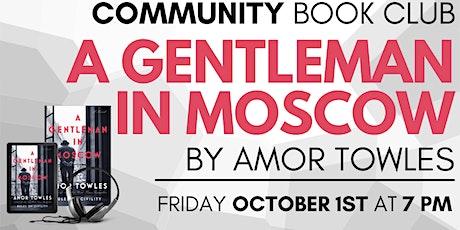 Community Book Club September tickets