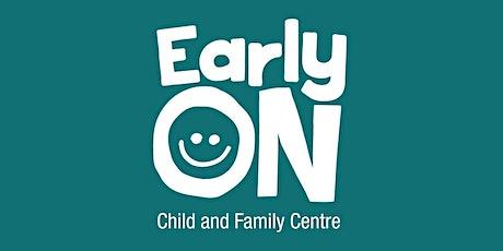 EarlyON Grantham Centre Outdoor Program September 29,  2021 tickets