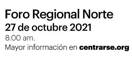 Foro Regional Norte entradas