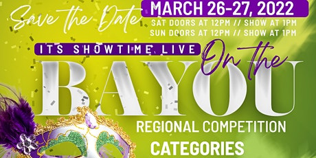 Its Showtime LIVE on The Bayou tickets